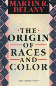 Front cover: The Origin of Races and Color