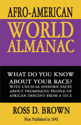 Half Price The Afro-American World Almanac - Ross D. Brown