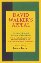 Half Price David Walker's Appeal- David Walker