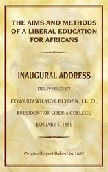 Half Price The Aims and Methods of a Liberal Education for Africans- Edward W. Blyden
