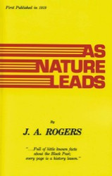 Half Price As Nature Leads- J.A. Rogers