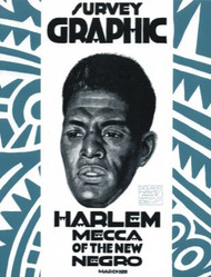 Half Price Survey Graphic (March 1925), Harlem Mecca of the New Negro - Ed. Alain Locke