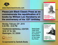 FEBRUARY 25, 2019 - HANSBERRY COMMEMORATION