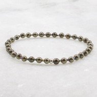 Pyrite Stretch Bracelet