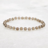 Smoky Quartz Stretch Bracelet