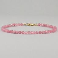 Pink Sapphire 14k Gold Filled Bracelet