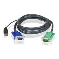 Aten KVM Cable SPHD15M - USB, HD15M 5m