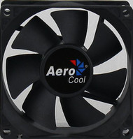 Aerocool Dark Force Fan 8cm, 7-Blade Design, 33.4CFM, 24.5DBA