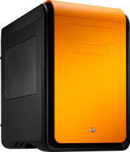 Aerocool DS Cube - Orange Edition w/Window - mATX / Mini ITX Case