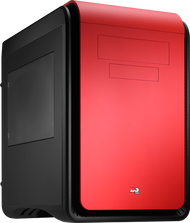 Aerocool DS Cube - Red Edition w/Window - mATX / Mini ITX Case