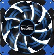 Aerocool DS Fan 12cm-Blue w/ LED, Dual Material, Fluid Dynamic Bearing, Noise Reduction