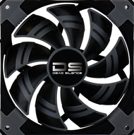 Aerocool DS Fan 14cm-Black, Dual Material, Fluid Dynamic Bearing, Noise Reduction
