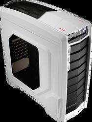 Aerocool GT-A-White Mid Tower Case,2x12cm FAN Ctrl,1xUSB3.0, 2xUSB2.0,HD Audio, HDD Dock