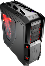 Aerocool GT-S-Black Full Tower Case w/ Window,2x20+14cm FAN Ctrl,2xUSB3.0, 2xUSB2.0,HD Audio
