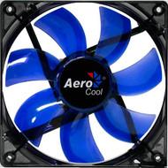 Aerocool Lightning Fan 12cm-Blue w/ LED, 7-Blade Design, 41.4CFM, 22.5DBA