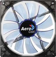 Aerocool Lightning Fan 14cm-Blue w/ LED, 11-Blade Design, 48.0CFM, 22.0DBA