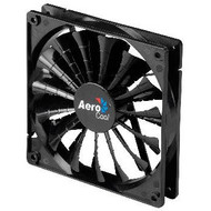 Aerocool Shark Fan 14cm-All Black Design