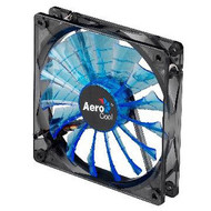 Aerocool Shark Fan 14cm-Blue/Black design w/ LED