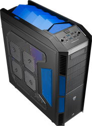 Aerocool Xpredator Blue Edition Full Tower Gaming Case
