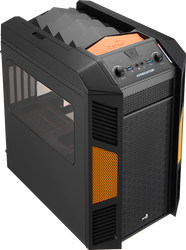 Aerocool Xpredator Cube Evil Black Edition mATX / Mini ITX Gaming Case