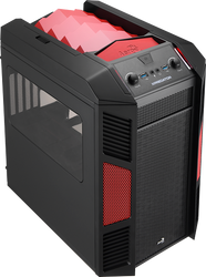 Aerocool Xpredator Cube Devil Red Edition mATX / Mini ITX Gaming Case