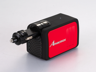 Amacrox 2.1A/100W AC Power Adapter & Dual USB Ports Car Charger
