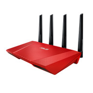 ASUS RT-AC87UR AC2400 MU-MIMO Wireless Gigabit Router - Limited Edition Red