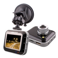 "BSR Car DVR - HD 1280x720, 2.0"" LCD, 120' wide angle lens"