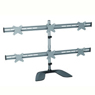 """Brateck Free Standing Six LCD MonitorsStand from 13''-24"""""""