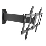 "Brateck Aluminum Slim Sliding Full-Motion TV Wall Mount For most 37""-70"" Curved LED, LCD Flat Panel TVs"