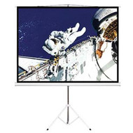 "Brateck 65"" (1.45m x 0.81m) Tripod Portable Projector Screen (16:9 ratio) Black"