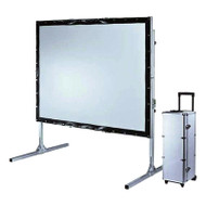 "Brateck 250"" (4:3 Aspect Ratio) Fast-Folding Portable Projector Screen with Solid Aluminium Carry Case"