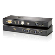 Aten USB VGA KVM Console Extender with Audio & Virtual Media - 1600x1200 or 250m Max