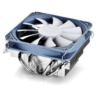 Deepcool Gamer Storm Gabriel Low Profile CPU Cooler (1156/55/50, FM1/AM3+), 4 Heatpipes, 120mm Fan