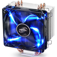 Deepcool Gammaxx 400 CPU Cooler with 4 Heatpipes, 120mm PWM LED Fan