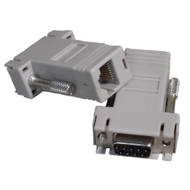 I/O Adaptor RJ45 - DB9M