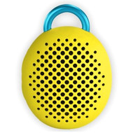 Divoom Bean Bluetooth Wireless Speaker, Speakerphone, Carabiner, Yellow