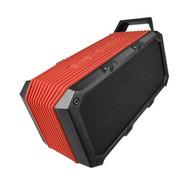 Divoom Voombox-Ongo Rugged Portable Bluetooth Speaker, Weather Resistant, Bike Mount, Red
