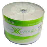 Ritek DVD+R 16x 50pc Pack Printable