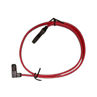 Serial ATA Cable SATA III 90degree Down Angle 26AWG 50cm - Red