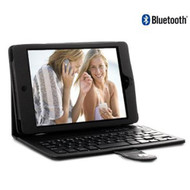 8Ware iPad Mini Case Folio with Bluetooth Keyboard