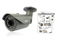 KGUARD VW123D 1000TVL Outdoor Bullet Vari focal Camera with Auto track/Zoom and 50M Night Vision