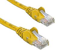 RJ45M - RJ45M Cat5E Network Cable 1m-Yellow