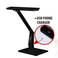 LEDware LED Reading Lamp 10W (700 lm) Colour Temp Adjustable & Dimmable Colour Black