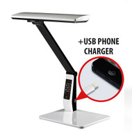 LED Reading Lamp 10W (700 lm) Colour Temp Adjustable & Dimmable [White]