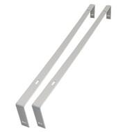NationStar LED Panel Light 6060 Mounting Brackets (Steel)