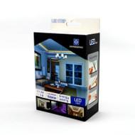 NationStar LED Flex Ribbon Strip Kit 12V 5m Roll Cool White 60 LED/m Inc. Power Adapter