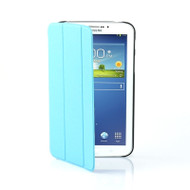 mbeat Samsung Galaxy Tab 3, 8 inch Ultra Slim Triple Fold Case Cover - Blue
