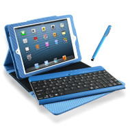 mBeat iPad Mini Bluetooth Keyboard and Folio Kit - Blue