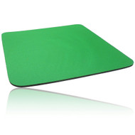 Single Colour Cloth Mouse Pad 260 X 220 X 5mm - Green